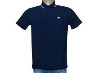 Camisa Masculina Cavalera Clothing 03.01.0642 Azul Aço/verde - Tamanho Médio