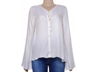 Camisa Feminina Coca-cola Clothing 303200373 Off White - Tamanho Médio