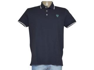 Camisa Masculina Coca-cola Clothing 253200881 Marinho/branco - Tamanho Médio