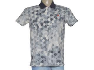 Camisa Masculina Coca-cola Clothing 255200026 Var1 Cinza Estampado - Tamanho Médio