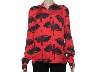 Camisa Feminina Colcci 300101504 Vermelho - Tamanho Médio