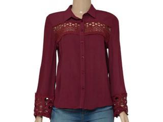 Camisa Feminina Colcci 300101700 Vermelho - Tamanho Médio