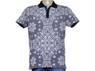 Camisa Masculina Dopping 015457510 Grafite - Tamanho Médio