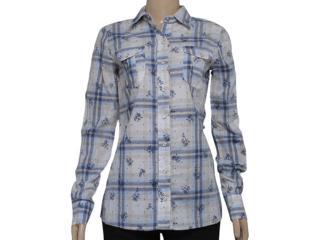 Camisa Feminina Dopping 011901507 Marinho - Tamanho Médio