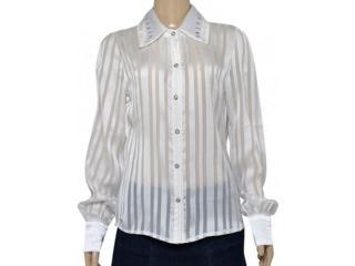 Camisa Feminina Dopping 011953515 Branco - Tamanho Médio