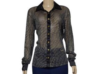 Camisa Feminina Dopping 011954513 Preto - Tamanho Médio