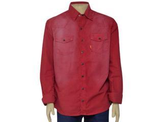 Camisa Masculina Dopping 011959000 Vinho - Tamanho Médio