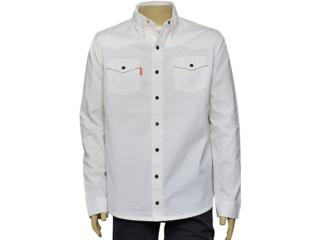 Camisa Masculina Dopping 011959006 Off White - Tamanho Médio