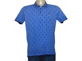 Camisa Masculina Dopping 015467020 Azul - Tamanho Médio
