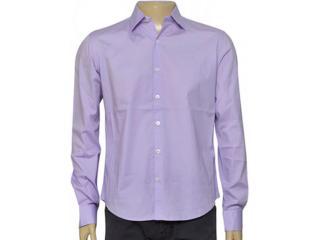 Camisa Masculina Ellus 41b344 Lilas - Tamanho Médio
