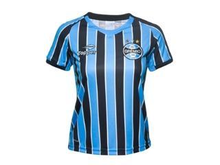 T-shirt Feminino Grêmio C9000f Tricolor - Tamanho Médio