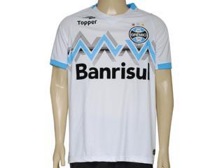Camisa Masculina Grêmio C9004m Branco - Tamanho Médio