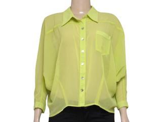 Camisa Feminina Index 07.01.000057 Limão - Tamanho Médio