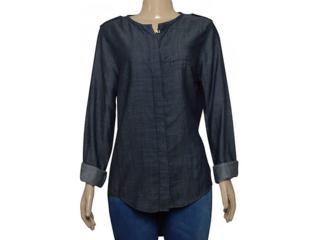 Camisa Feminina Index 07.01.000282 Jeans - Tamanho Médio