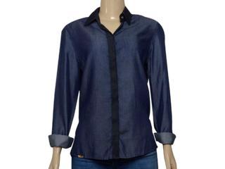 Camisa Feminina Index 07.01.000379 Jeans - Tamanho Médio