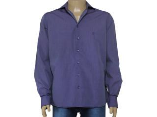 Camisa Masculina Individual 302.11606.001 Roxo - Tamanho Médio