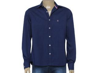Camisa Masculina Individual 302.62073.001 Marinho - Tamanho Médio