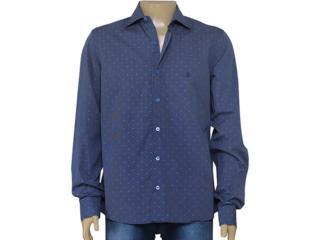 Camisa Masculina Individual 302.11039.001 Marinho - Tamanho Médio