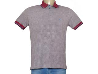 Camisa Masculina Individual 306.22222.217 Cinza/vermelho - Tamanho Médio