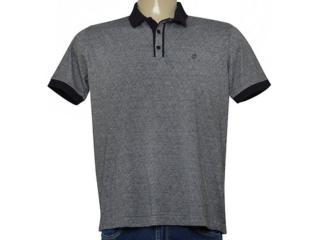 Camisa Masculina Individual 306.22222.228 Cinza/preto - Tamanho Médio