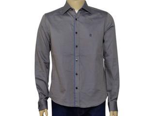 Camisa Masculina Individual 302.02658.001 Cinza - Tamanho Médio