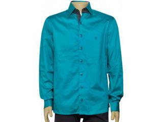 Camisa Masculina Individual 302.00932.004 Verde Agua - Tamanho Médio