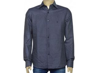 Camisa Masculina Individual 302.27008.001 Grafite/marinho - Tamanho Médio