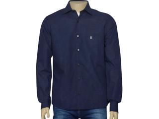 Camisa Masculina Individual 302.14179.002 Marinho - Tamanho Médio