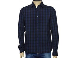Camisa Masculina Individual 302.44973.001 Marinho/preto - Tamanho Médio
