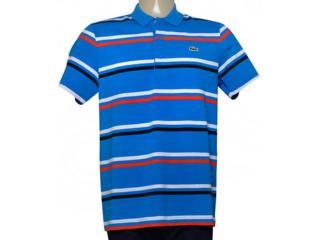 53200394a0e Camisa Lacoste YH7681 21 Azul Listrado Comprar na Loja...