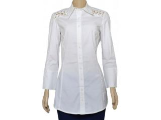 Camisa Feminina Lafort 264 Branco - Tamanho Médio