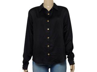 Camisa Feminina Moikana 1511108 Preto - Tamanho Médio