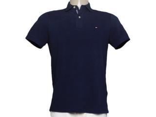 Camisa Masculina Tommy Thc837810655 Marinho - Tamanho Médio