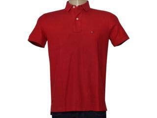Camisa Masculina Tommy Th0857889198 Vermelho - Tamanho Médio