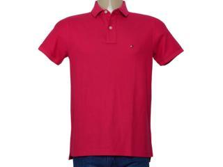 Camisa Masculina Tommy Th0857889250 Rosa - Tamanho Médio
