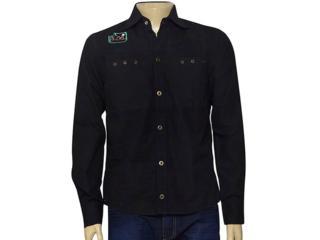 Camisa Masculina Young Spirit 1176002 Preto - Tamanho Médio