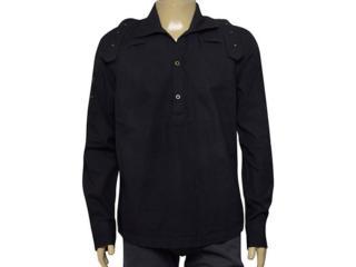 Camisa Masculina Young Spirit 1176202/1 Preto - Tamanho Médio