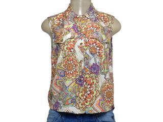 Camisa Feminina Zinco 201635 Estampado - Tamanho Médio