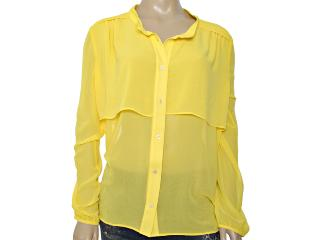 Camisa Feminina Coca-cola Clothing 303200211 Amarelo - Tamanho Médio