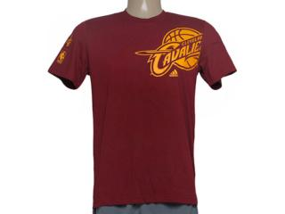 Camiseta Masculina Adidas Ac4391 Clu pt Nba Vinho - Tamanho Médio