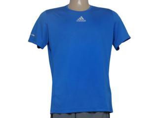 Camiseta Masculina Adidas Aa5769 Sequencials m Azul - Tamanho Médio