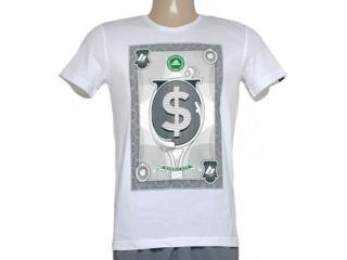 Camiseta Masculina Adidas Aa4220 Wall Street  Branco - Tamanho Médio