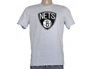 Camiseta Masculina Adidas S29936 Clubs Nba Mescla - Tamanho Médio