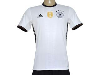 Camiseta Masculina Adidas Ai5014 Alemanha i Branco/preto - Tamanho Médio