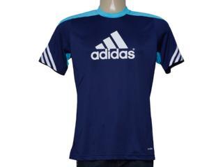 Camiseta Masculina Adidas F49701 Sere 14 Trg Marinho/azul - Tamanho Médio