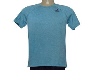 Camiseta Masculina Adidas Ce0293 D2m Tee ht Azul - Tamanho Médio