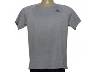 Camiseta Masculina Adidas Bj8607 D2m Tee ht Mescla - Tamanho Médio