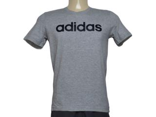 Camiseta Masculina Adidas Br4067 Comm m t Cinza - Tamanho Médio