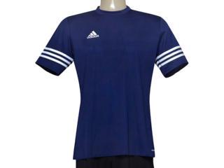 Camiseta Masculina Adidas F50487 Entrada 14 Marinho - Tamanho Médio