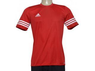 Camiseta Masculina Adidas Bh6910 Entrada 14 Vermelho - Tamanho Médio